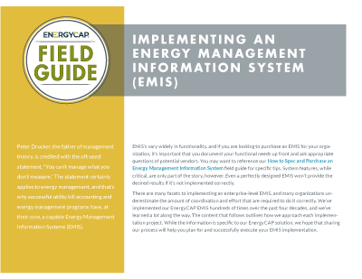 Field Guide - Implementing an EMIS