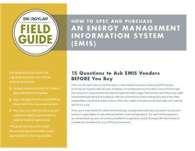 Field Guide - Spec and Purchase an EMIS